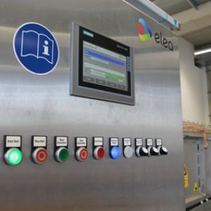 BIQ Business- und Innovationspark Quakenbrück Maschinendisplay