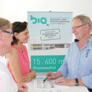 BIQ Business- und Innovationspark Quakenbrück Beratungsgespräch
